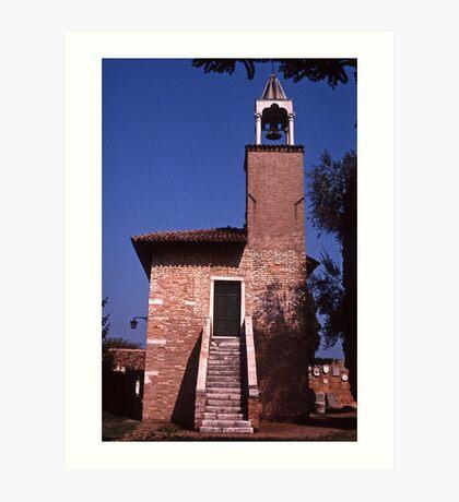 Campanile Torcello Art Print