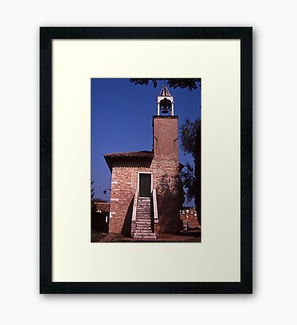 Campanile Torcello Framed Print