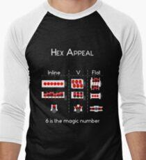 Hex Appeal Men's Baseball ¾ T-Shirt