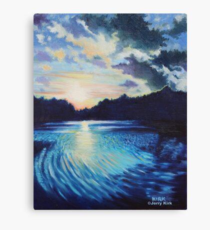 'Sunset On Chetola' Canvas Print
