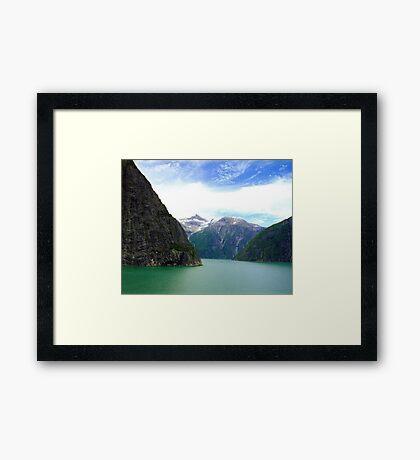 Alaska Fjords  Framed Print