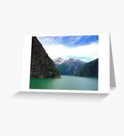 Alaska Fjords  Greeting Card