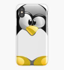 Tux illustration  iPhone Case