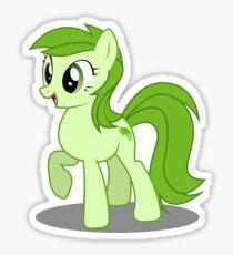 Green MLP Sticker