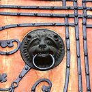 Gate or Door Handle of middle Ages in Germany by Remo Kurka