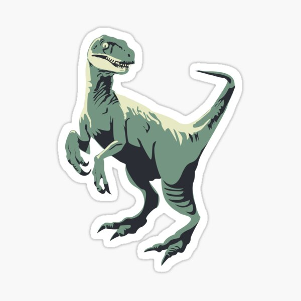 Clever Girl  Sticker