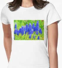 Muscari - Impressions Of Spring Womens Fitted T-Shirt