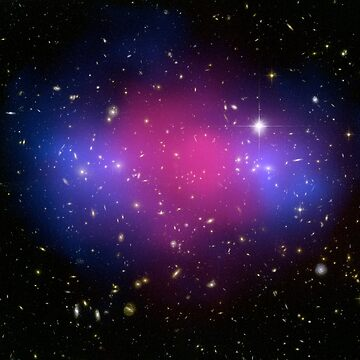Galaxy Cluster MACS J0025.4-1222 Astronomy Image by Greenbaby