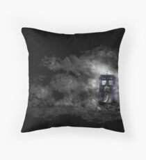 Mysterious Doctor Throw Pillow