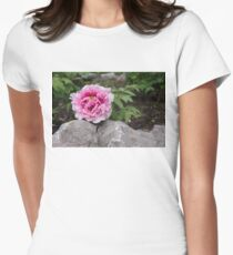 Peony on the Rocks - the Marvels of Spring T-Shirt