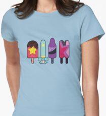 Steven Universe Popsicles--The Crystal Gems T-Shirt
