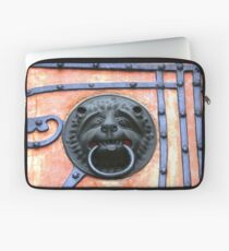 Middle Ages door handle, gate in Germany Laptop Sleeve