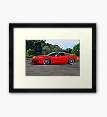 Corvette ZR1 Coupe Framed Print