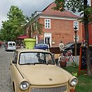 Trabant - `DDR` East German car (`Auto`) by Remo Kurka