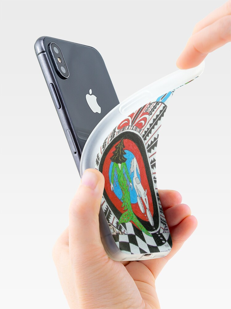 Alternate view of Through the Looking Glass iPhone Case & Cover