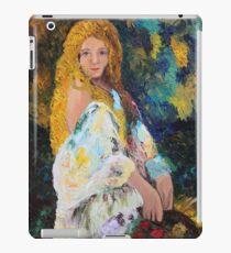 Girl in the Garden iPad Case/Skin
