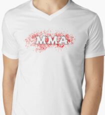 MMA  Mens V-Neck T-Shirt