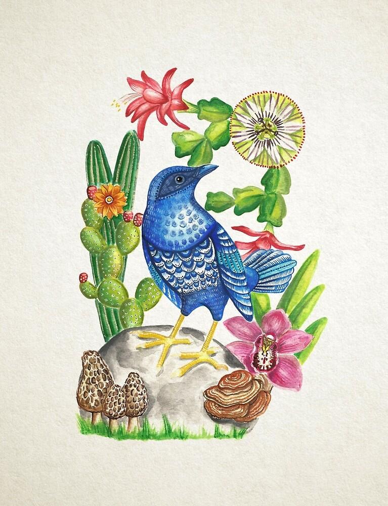 «Pájaro azul» de aledelatorre