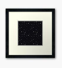 Starry Framed Print