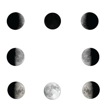 Squared lunar phase by trapezedevil