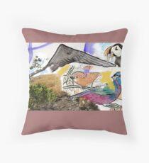 Aves Throw Pillow
