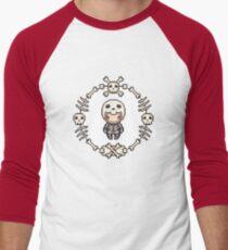 The Skeleton Men's Baseball ¾ T-Shirt