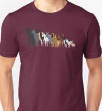 Sighthound Line Up T-Shirt