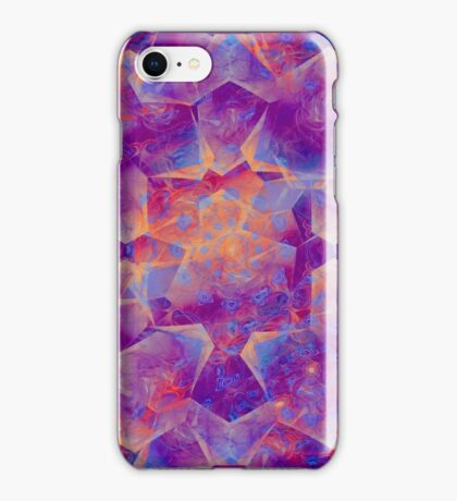 Purple abstact iPhone Case/Skin
