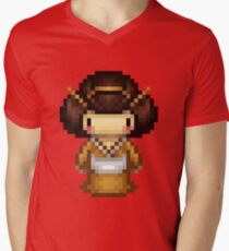 golden geisha Men's V-Neck T-Shirt