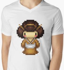 golden geisha Mens V-Neck T-Shirt