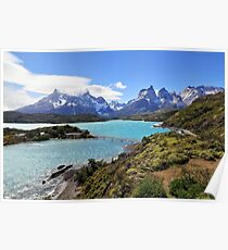 Torres del Paine - Puerto Natales, Chile Poster