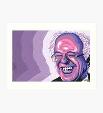 Bernie Art Print