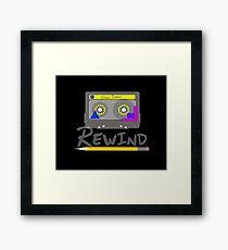 Rewind Framed Print