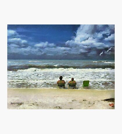 Lifes a Beach  Photographic Print
