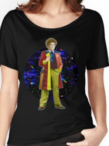 The 6th Doctor - Colin Baker Women's Relaxed Fit T-Shirt
