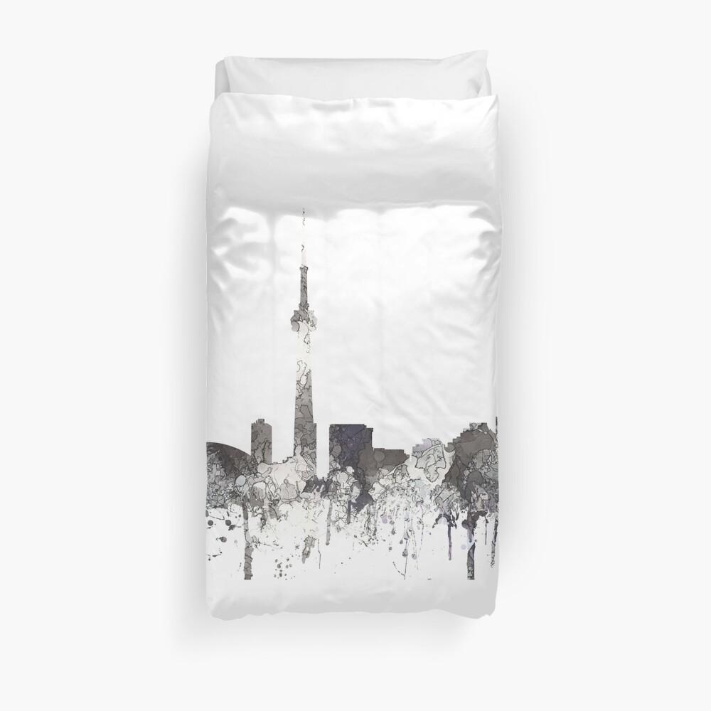 Skyline von Toronto, Ontario - CRISP Bettbezug