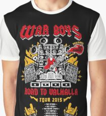 Road to Valhalla Tour Graphic T-Shirt