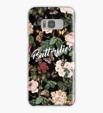 Floral and Butterflies Samsung Galaxy Case/Skin
