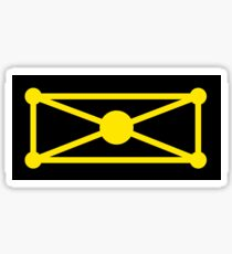 Planet of Coruscant Flag Sticker