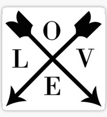 love arrows Sticker