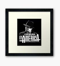 Robert De Niro - C'era una volta in America Framed Print
