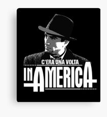 Robert De Niro - C'era una volta in America Canvas Print
