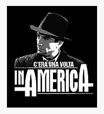 Robert De Niro - C'era una volta in America Photographic Print