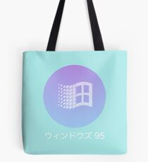 Windows 95 Vaporwave   Tote Bag