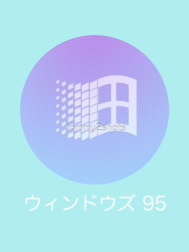 Windows 95 Vaporwave de tommy2shots