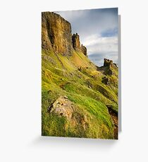 The Quiraing - Isle Of Skye Greeting Card