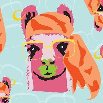 Pop Llama Hide and Seek by RenegadeBhavior