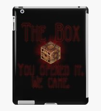 Hellraiser The Box You Opened It iPad Case/Skin