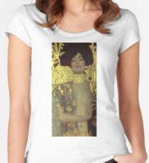 Gustav Klimt - Judith - Klimt -Judith Women's Fitted Scoop T-Shirt