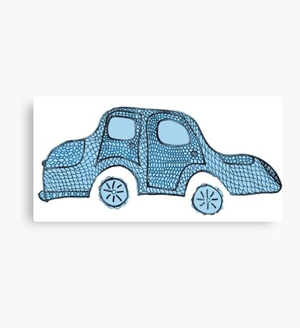 Blue moBile Canvas Print